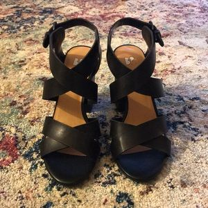 c8859f1c39e (Nordstrom) Terry Block Heel Sandal